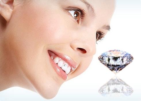 Kết quả hình ảnh cho răng đính kim cương