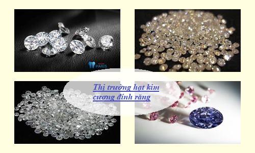 hạt kim cương đính răng