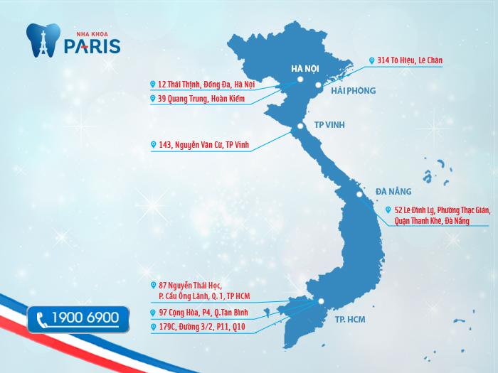 Nha khoa Paris tại Tp HCM - Địa chỉ nha khoa uy tín hiện nay
