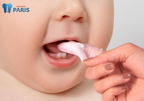 Cách vệ sinh răng miệng cho bé 1 tuổi, dưới 1 tuổi có sự khác nhau